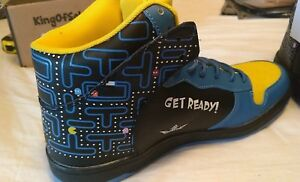 New-Limited-Edition-Retro-KOS-Shoes-Premium-Leather-Size-US-8-12-Pacman-Sneakers