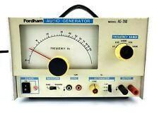 Fordham Ag 260 Audio Signal Generator