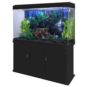 Pet Supplies Fish & Aquariums Pecera Acuario Completo 300l Con Mueble De Almacenamiento 300w & Kit Iniciación 2019 Official