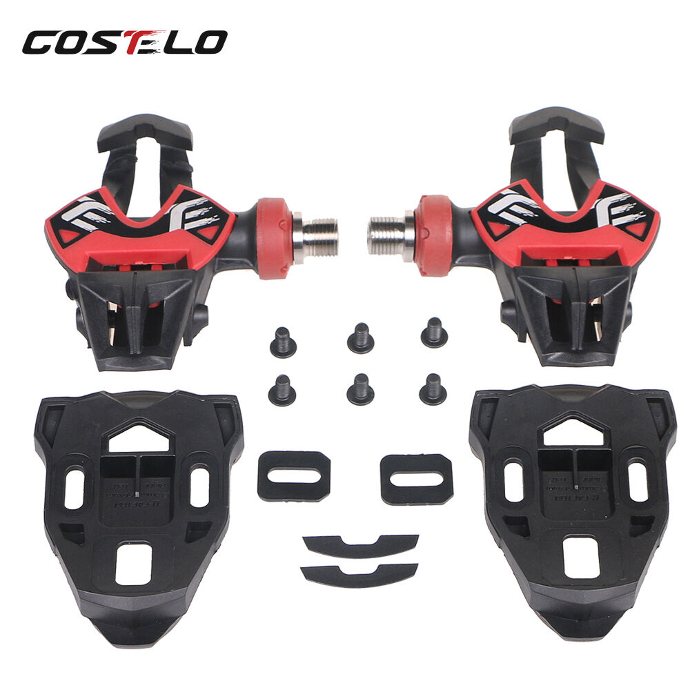 Costelo Carbon Road Bike carbon titanium Ti bicycle pedals  only 163g with cleats  timeless classic