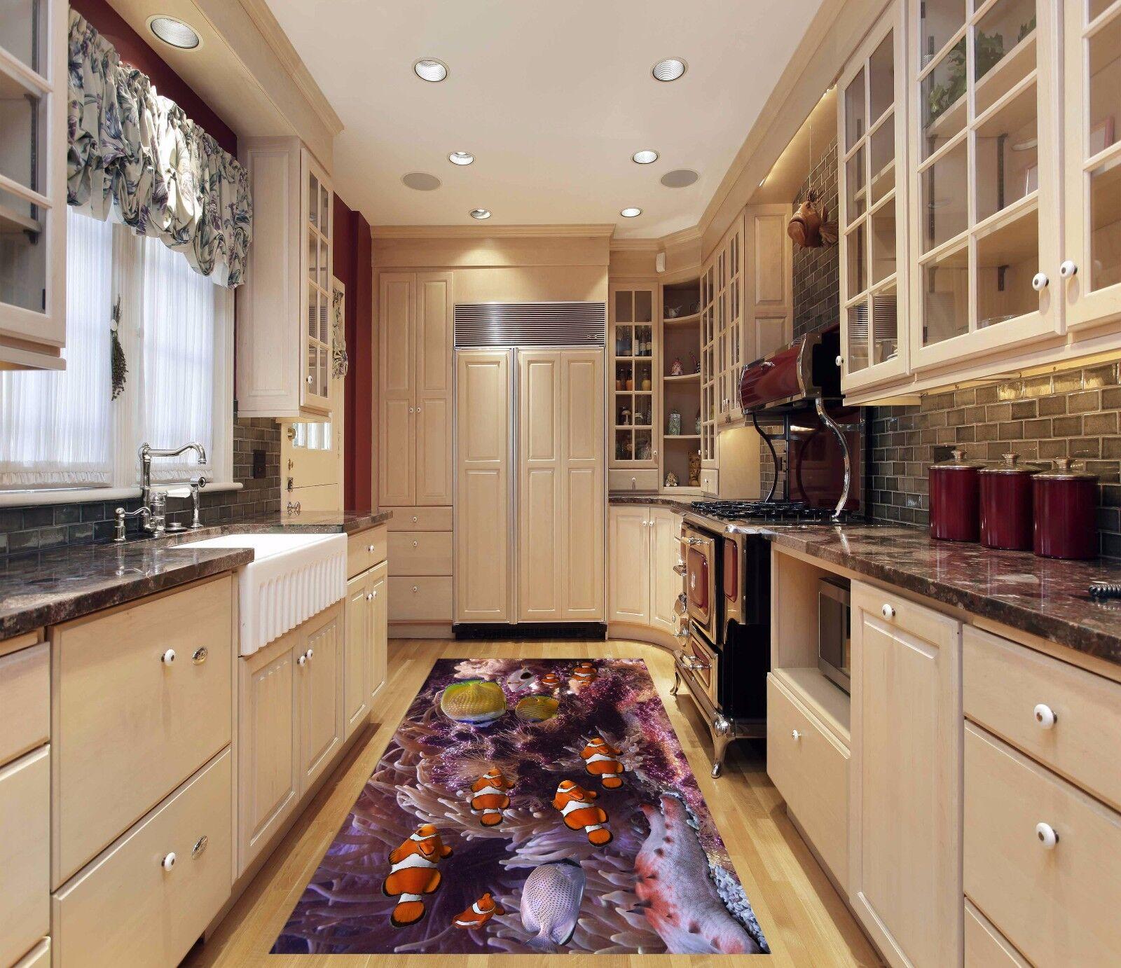 3D Nimo Fish 55 Kitchen Mat Floor Murals Wall Print Wall AJ WALLPAPER AU Kyra