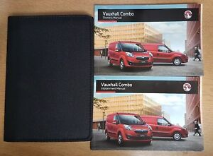GENUINE VAUXHALL COMBO OWNERS MANUAL HANDBOOK WALLET INFOTAINMENT 2011-2017 PACK