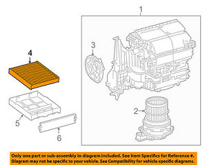 Image Is Loading TOYOTA OEM 16 17 Prius Cabin Air Filter