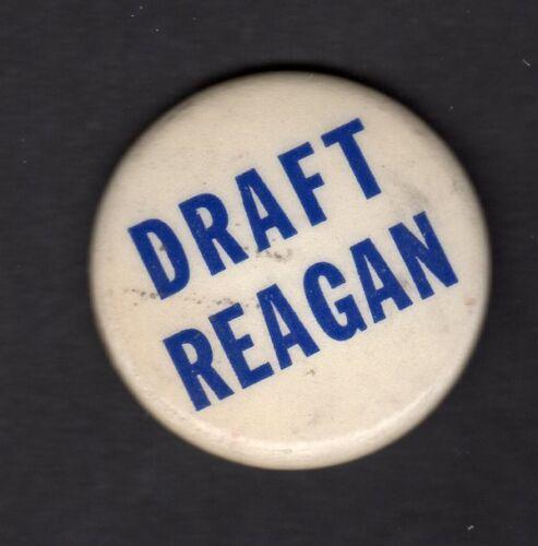 Draft Reagan Republican Primary 1968 Button