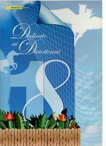 ITALIA-FOLDER-2006-DEDICATO-AI-DICIOTTENNII-RARO