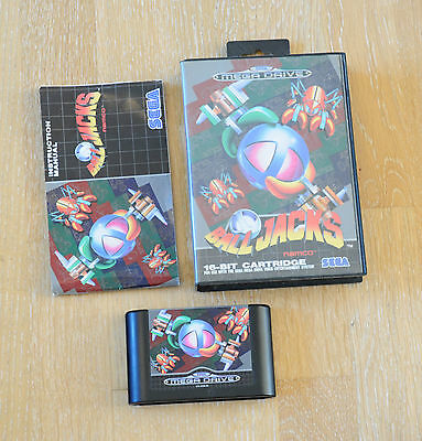 Sega Mega Drive: Ball Jacks - Komplett mit OVP und Anleitung aus Sammlung