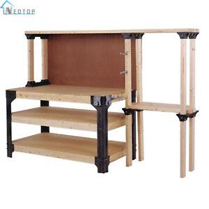 Enjoyable Details About 2X4 Basics Workbench Kit Garage Storage Table Tools Shelf Diy Workshop Bench New Pdpeps Interior Chair Design Pdpepsorg