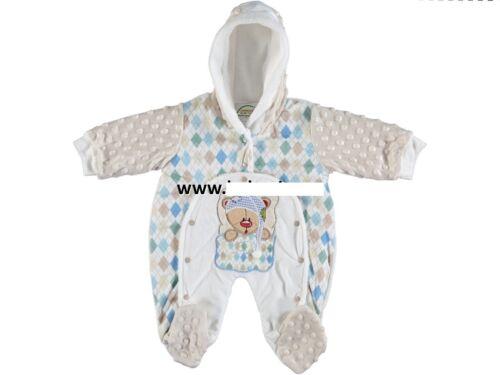 Winter Jungen Baby Jampsuit Strampler Overal Gr 74