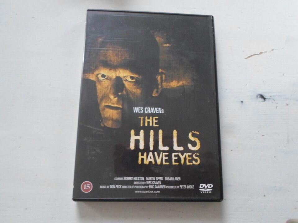 The Hills Have Eyes (udgået DK udgave), instruktør Wes