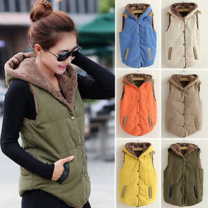 Women-039-s-Hooded-Vest-Coat-Winter-Warm-Jacket-Casual-Sleeveless-Hoodies-Plus-Size