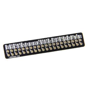 Schwarz-GPIO-Pin-Referenz-PCB-Board-elektronische-fuer-Raspberry-Pi-2-Model-B-B