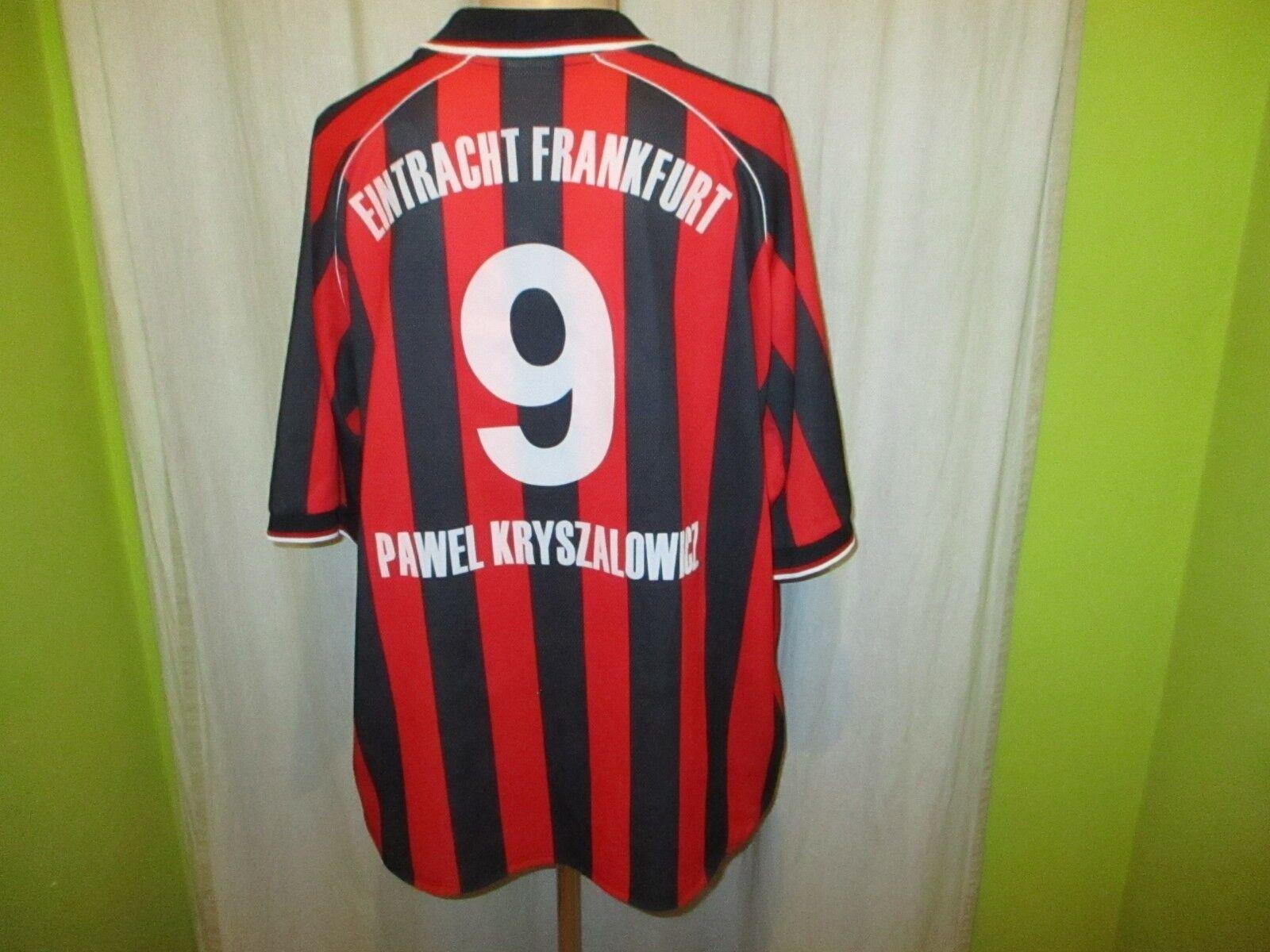 Eintracht Frankfurt Fila Fila Fila Aufstieg Heim Trikot 2001/02 + Nr.9 Kryszalowicz Gr.XXL 584804