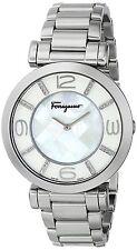 Salvatore Ferragamo Women's FG3050014 GANCINO DECO Stainless Steel Diamond Watch
