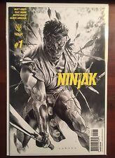 Ninjak issue #1 1:60 Lewis LaRosa Sketch Variant NM Valiant First App Roku