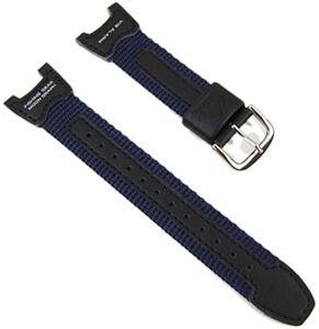 Genuine-Casio-Blu-Scuro-Nylon-Cinturino-Orologio-per-orologio-della-PRS-400B-Casio-10113393