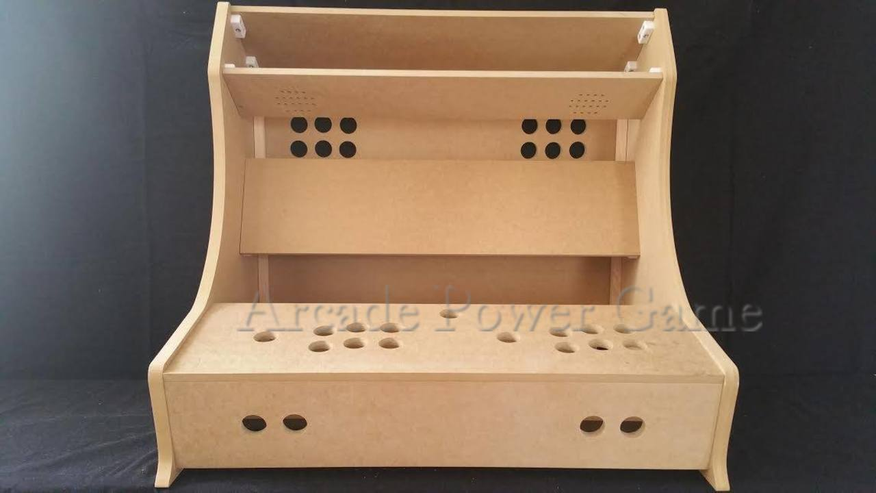 Kit Bartop Arcade XXL 2 players pour pour pour raspberry pi 3 ( MADE IN FRANCE ) dc7506