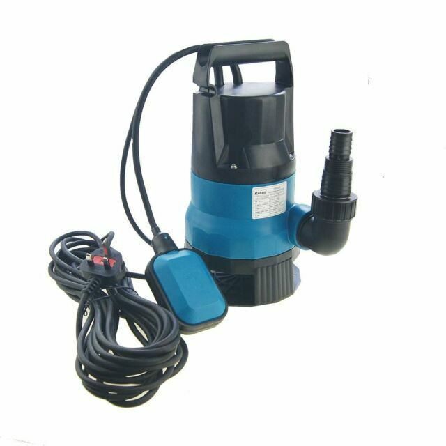 400W Heavy Duty Garden Pond Submersible Sewage Clean Dirty Water Pump Free P/&P