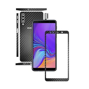 Details about Samsung A7 (2018) - 1+1 FREE Skin,Carbon Full Body SPLIT  Wrap,Case Vinyl Decal