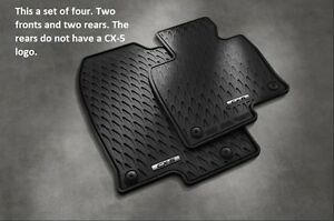 Details About 2017 2018 2019 2020 Mazda Cx 5 All Weather Floor Mats Set Of 4 00008br21