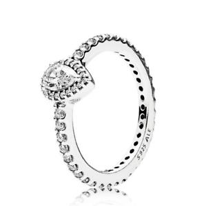 77b683c4f Pandora Radiant Teardrop Ring S925 ALE Size 54 BEST SELLER - FREE ...