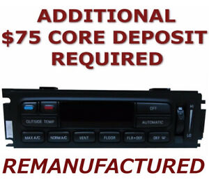 Details about REMAN 95 96 97 Ford Explorer Mountaineer Heater Climate  Control EATC >EXCHANGE<