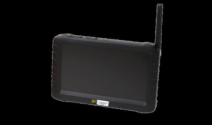 RC Logger Crash RC EYE OneCam 5.8 GHz RX 89050RC LCD Monitor / 8 RF Channels