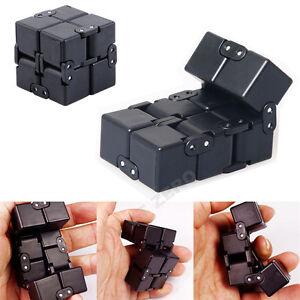 infinity cube  Luxury EDC Infinity Cube Mini Fidget Anti Anxiety Stress Funny Toy ...