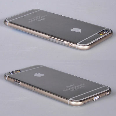 Ultra Thin Transparent Crystal Clear Soft Case Cover For iPhone 4 4S 5 5S 6 Plus