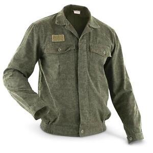 NEW-USED-Genuine-Czech-Army-Field-Work-Field-Jacket-Shirt-Vz92-M92-surplus