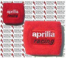 APRILIA RSV4 RSV1000R MILLE TUONO R RESERVOIR COVERS WRISTBANDS SOCKS RED