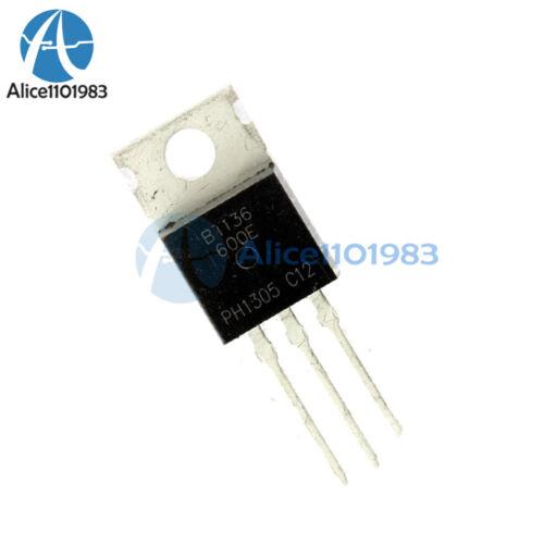 20PCS BT136 BT136-600E BT136-600 4 A Triac 600 V TO-220