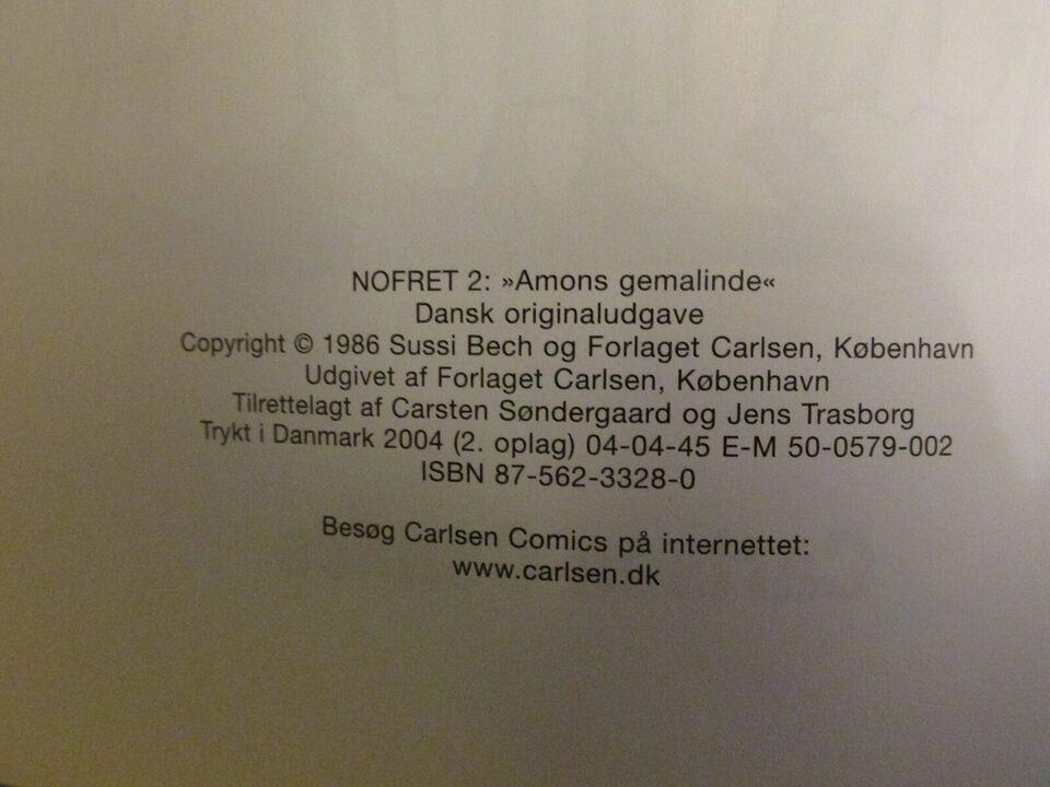 Tegneserier, Nofret. Album nr. 2: Amons gemalinde.