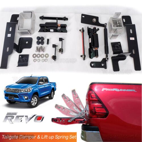 Tailgate Damper Torsion spring /& Shock absorber Fits Toyota Hilux Revo 2015 2017