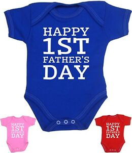BabyPrem Baby Cothes 1st FATHERS DAY Gifts Bodysuit Vest Top NB 12m