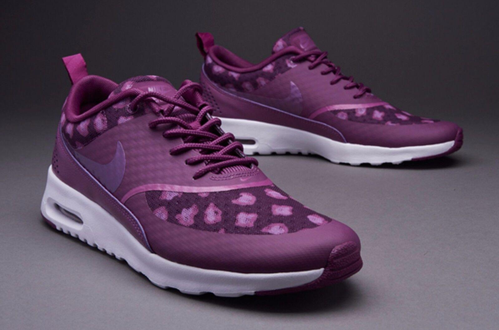 Nike Air Max Thea Print 599408 501 Berry Fuchsia Flash Fuchsia Glow Wmn Sz 7