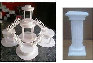 Details about Cake Riser Foam Shape columns sorreggi Cake H 12 L 5- show  original title