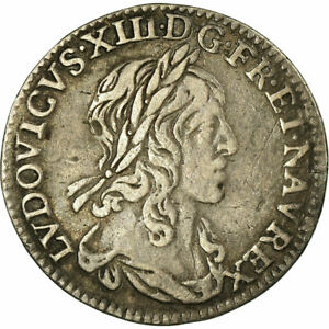 516607-Coin-France-Louis-XIII-1-12-Ecu-1642-Paris-1er-poincon-de-Warin