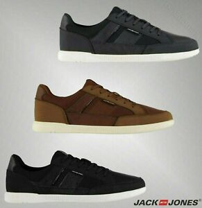 Homme-Branded-Jack-And-Jones-elegant-dentelle-byson-Mesh-Mix-Baskets-Chaussures-6-11