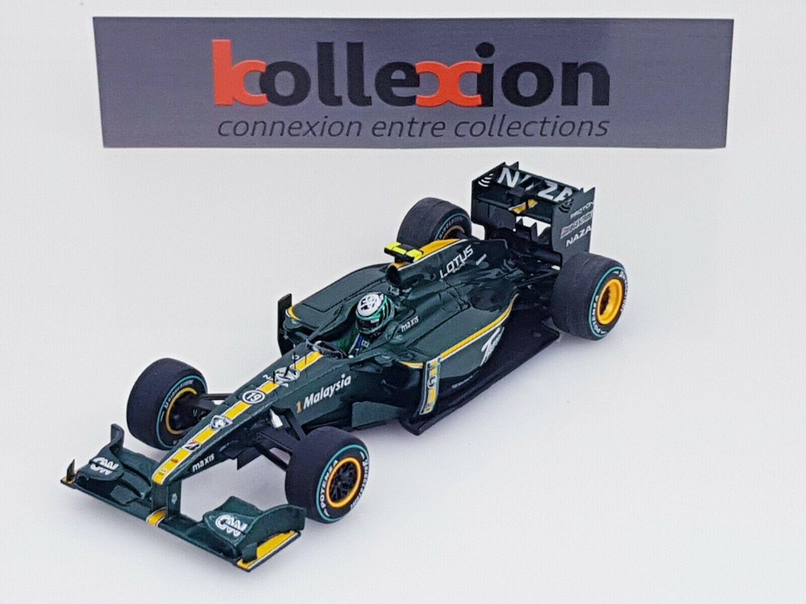 Spark S3007 Lotus T127 No. 19 Monaco Gp 2010 Kovalainen 1.43 Nb