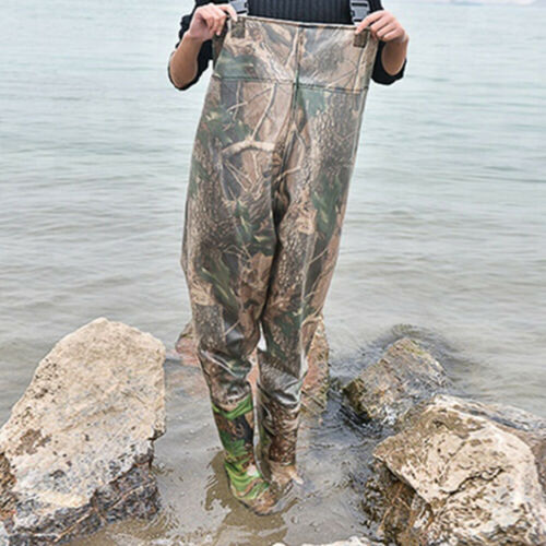 Waders Camo Design Waterproof Ideal for Fishing Leisure Agriculture or Water Gar