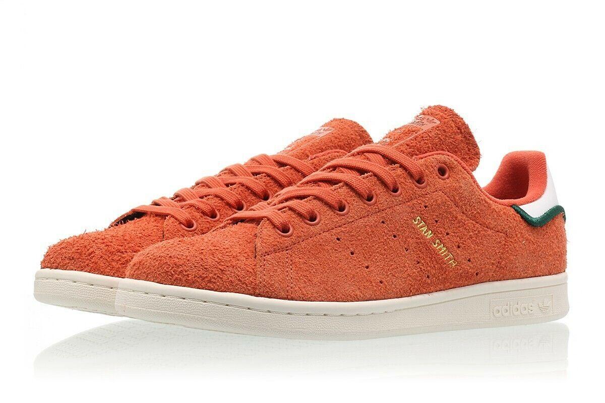 0e362b01fc55e5 Men s STAN SMITH CQ3091 orange Casual Sneakers Adidas Trace ...