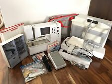 Bernina  Artista 180e Computerized Sewing & Embroidery Lot! Tons Of Accessories!