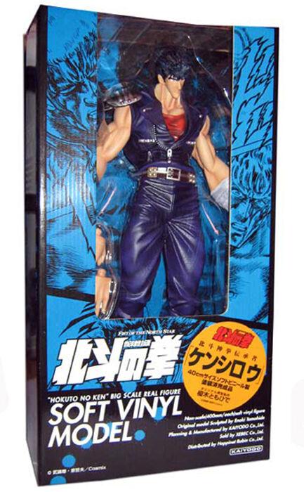 Kenshiro Hokuto no Ken Vinyl 40 cm Kaiyodo figure model Anime Manga Jumbo