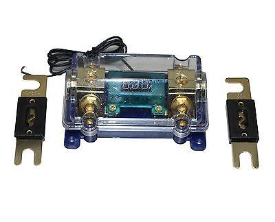 Digital Platinum Anl Dist Block 0-4 Gauge Fuse Holder Car Audio Free Anl Fuse150
