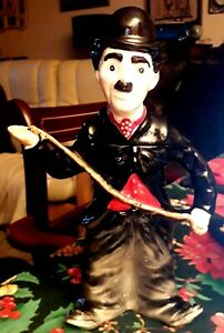Vintage-Collectable-Charlie-Chaplin-Teapot-29cms-Tall-Excellent-Condition