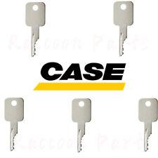 5pcs Case Backhoe Loader Forklift Skid Steer Loader Tractor Ignition Key Case Ih