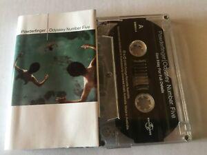 POWDERFINGER-ODYSSEY-NUMBER-FIVE-Rare-2000-Australian-Cassette