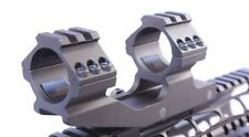 30mm Tactical Dual Ring Cantilever Scope Mount W Picatinny Rail Tops for Burris
