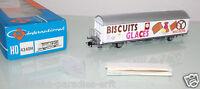 """Roco Spur H0 4340H Schiebewandwagen """"Migros Biscuits Glaces"""" SBB in OVP (LL590)"""