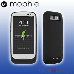 GENUINE-Mophie-Juice-Pack-Battery-Case-for-Samsung-Galaxy-S-III-3-S3-Matte-Black